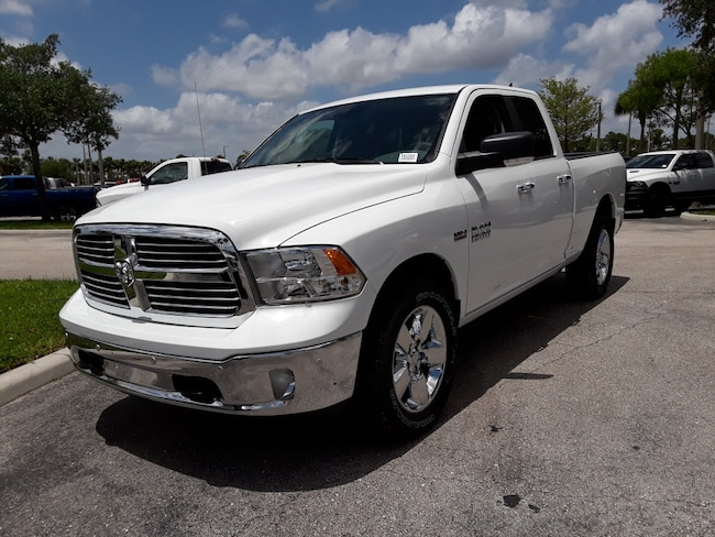 New 2018 Ram 1500 BIG HORN QUAD CAB 4X4 6'4 BOX Quad Cab For Sale/Lease West Palm Beach, Florida