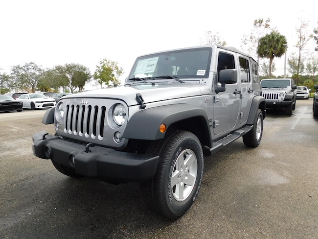 New 2018 Jeep Wrangler JK UNLIMITED SPORT S 4X4 Sport Utility For Sale/Lease West Palm Beach, Florida