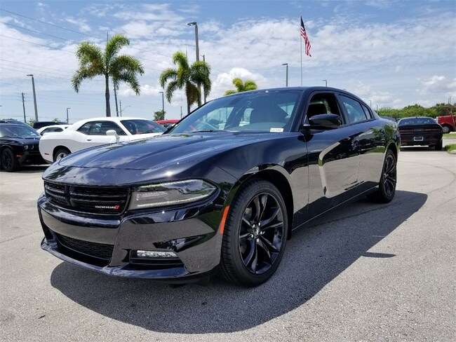 New 2018 Dodge Charger SXT PLUS RWD - LEATHER Sedan For Sale/Lease Fort Pierce, Florida