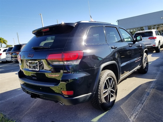 new 2018 jeep grand cherokee trailhawk 4x4 for sale lease fort pierce fl vin. Black Bedroom Furniture Sets. Home Design Ideas