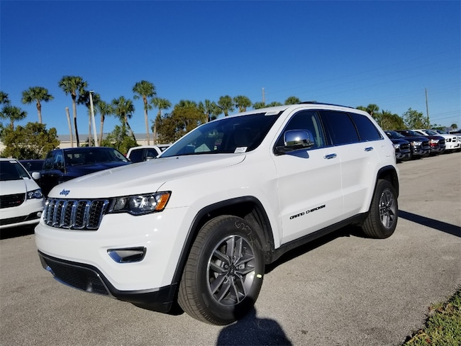 New 2019 Jeep Grand Cherokee LIMITED 4X2 Sport Utility For Sale/Lease Fort Pierce, Florida