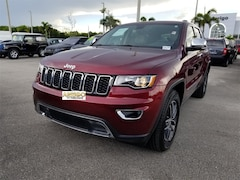 2017 Jeep Grand Cherokee Limited SUV 1C4RJEBG7HC804463