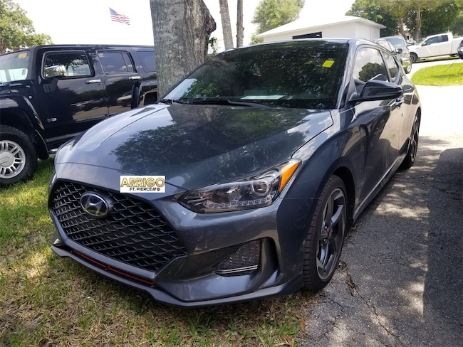 Used 2019 Hyundai Veloster Turbo Ultimate Hatchback For Sale Fort Pierce, FL