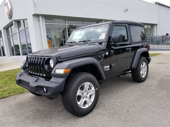 New 2019 Jeep Wrangler SPORT S 4X4 Sport Utility For Sale/Lease Fort Pierce, Florida