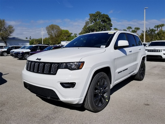 New 2019 Jeep Grand Cherokee ALTITUDE 4X2 Sport Utility For Sale/Lease Fort Pierce, Florida