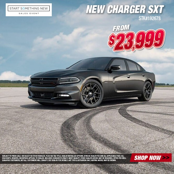 Charger SXT Special