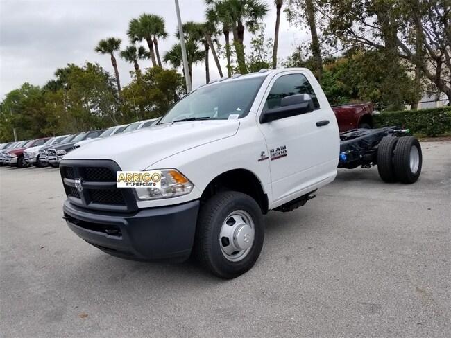 New 2018 Ram 3500 TRADESMAN CHASSIS REGULAR CAB 4X4 167.5 WB Regular Cab For Sale/Lease Tamarac, Florida