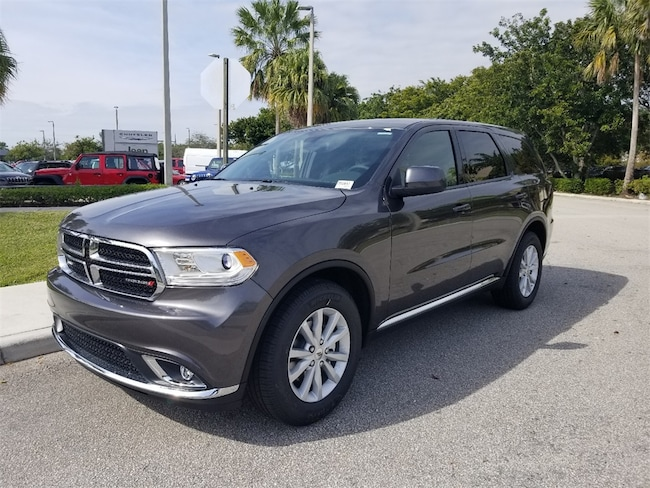 New 2019 Dodge Durango SXT RWD Sport Utility For Sale/Lease Tamarac, Florida