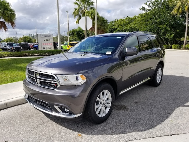 New 2019 Dodge Durango SXT PLUS RWD Sport Utility For Sale/Lease Tamarac, Florida
