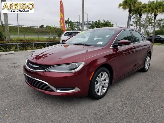 Used 2016 Chrysler 200 Limited Sedan For Sale Tamarac, FL