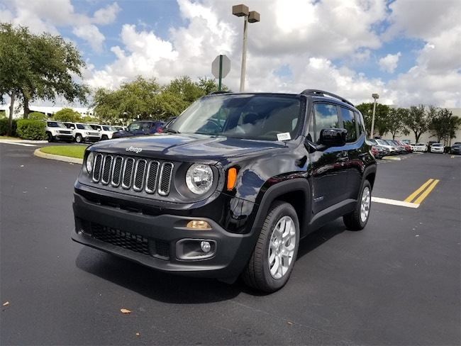 New 2018 Jeep Renegade LATITUDE 4X2 Sport Utility For Sale/Lease Tamarac, Florida
