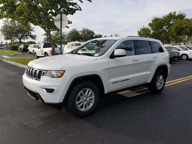 New 2019 Jeep Grand Cherokee LAREDO 4X2 Sport Utility For Sale/Lease Tamarac, Florida