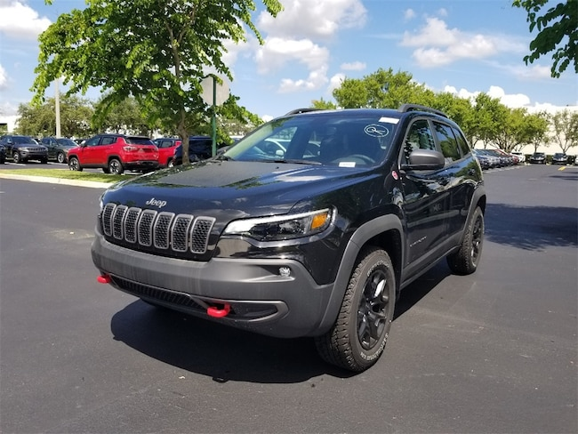 new 2019 jeep cherokee trailhawk elite 4x4 for sale lease. Black Bedroom Furniture Sets. Home Design Ideas
