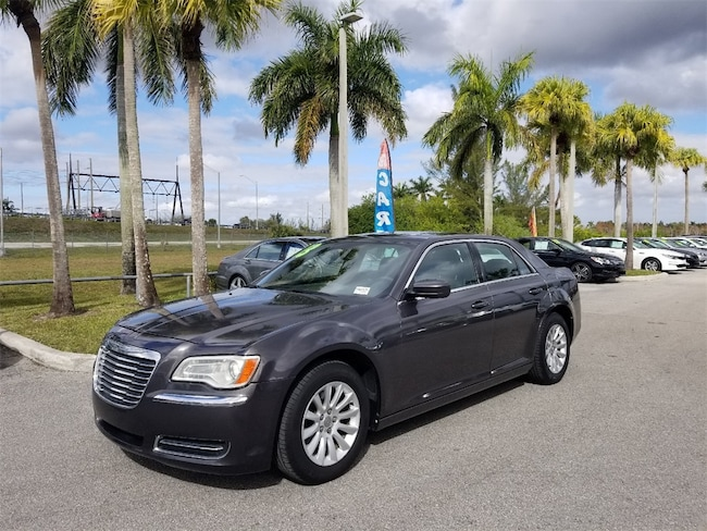 Used 2013 Chrysler 300 Base Sedan For Sale Tamarac, FL