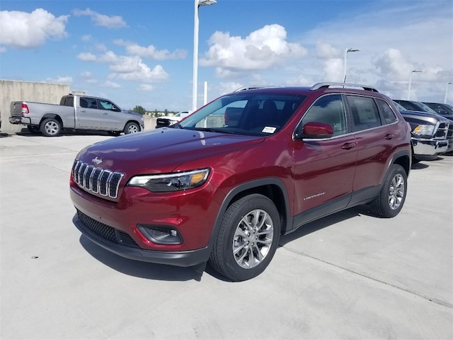 New 2019 Jeep Cherokee LATITUDE PLUS FWD Sport Utility For Sale/Lease Tamarac, Florida