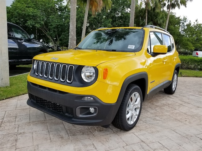 New 2018 Jeep Renegade LATITUDE 4X2 Sport Utility For Sale/Lease West Palm Beach, Florida