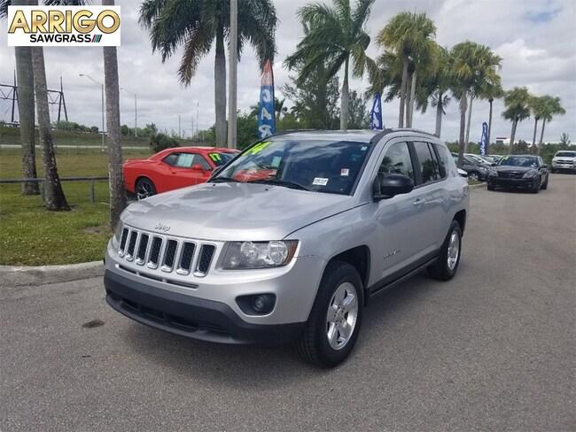 Used 2014 Jeep Compass Sport FWD SUV For Sale Tamarac, FL