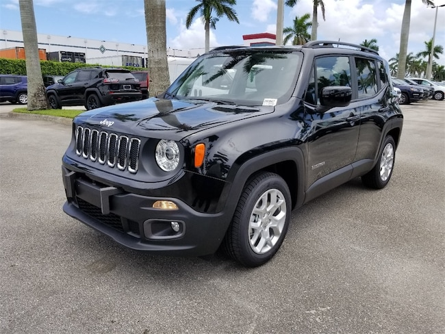 New 2018 Jeep Renegade LATITUDE 4X2 Sport Utility For Sale/Lease Tamarac, Florida
