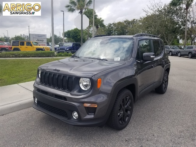 New 2019 Jeep Renegade ALTITUDE FWD Sport Utility For Sale/Lease Tamarac, Florida