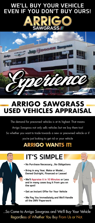 arrigo sawgrass coupons