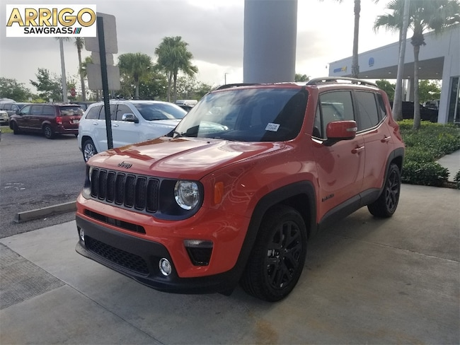 New 2019 Jeep Renegade ALTITUDE 4X2 Sport Utility For Sale/Lease Tamarac, Florida