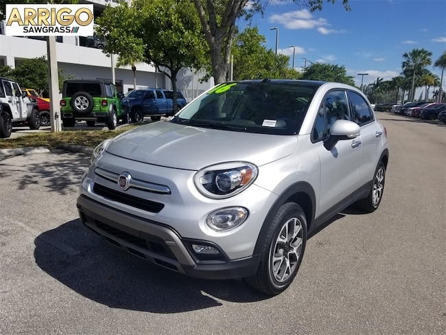 Used 2016 FIAT 500X Trekking SUV For Sale Tamarac, FL