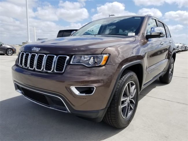 New 2018 Jeep Grand Cherokee LIMITED 4X2 Sport Utility For Sale/Lease Tamarac, Florida