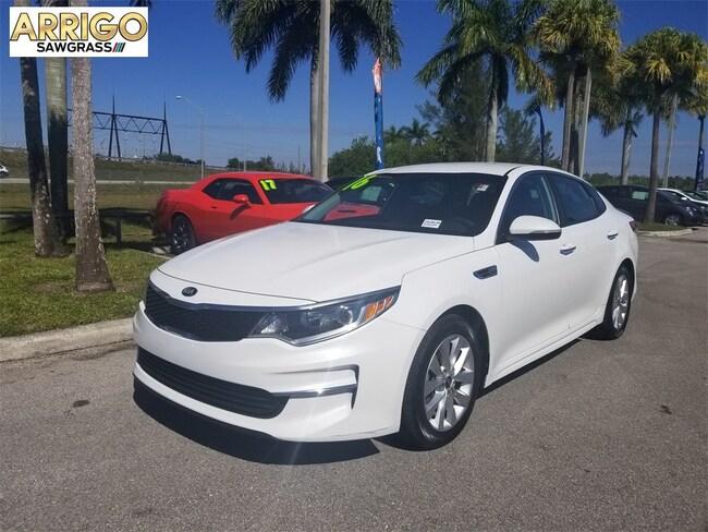 Used 2016 Kia Optima LX Sedan For Sale Tamarac, FL
