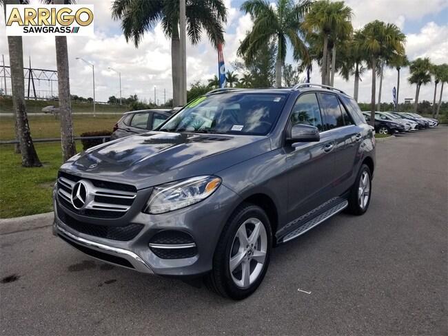 Used 2018 Mercedes-Benz GLE GLE 350 SUV For Sale Tamarac, FL