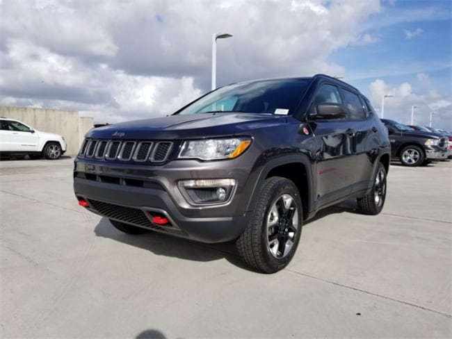 New 2018 Jeep Compass TRAILHAWK 4X4 Sport Utility For Sale/Lease Tamarac, Florida