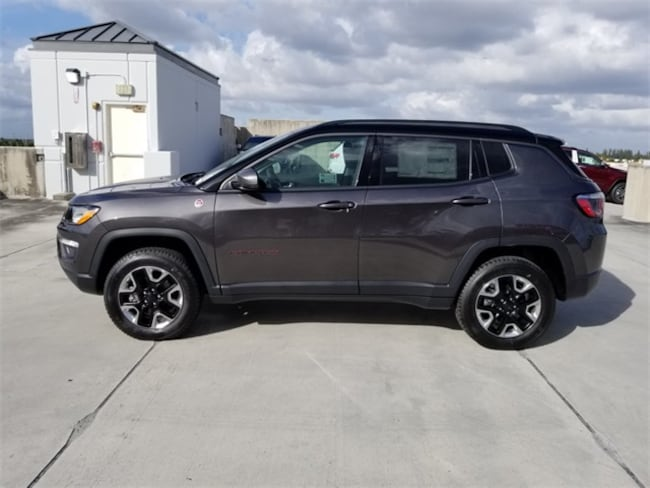 new 2018 jeep compass trailhawk 4x4 for sale lease west. Black Bedroom Furniture Sets. Home Design Ideas