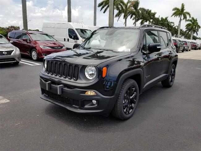 New 2018 Jeep Renegade ALTITUDE 4X2 Sport Utility For Sale/Lease Tamarac, Florida