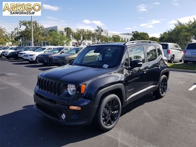 New 2019 Jeep Renegade ALTITUDE 4X2 Sport Utility For Sale/Lease Tamarac, Florida