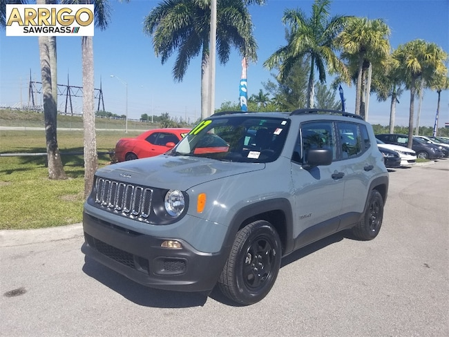 Certified Pre-Owned 2017 Jeep Renegade Sport SUV For Sale Tamarac, Florida