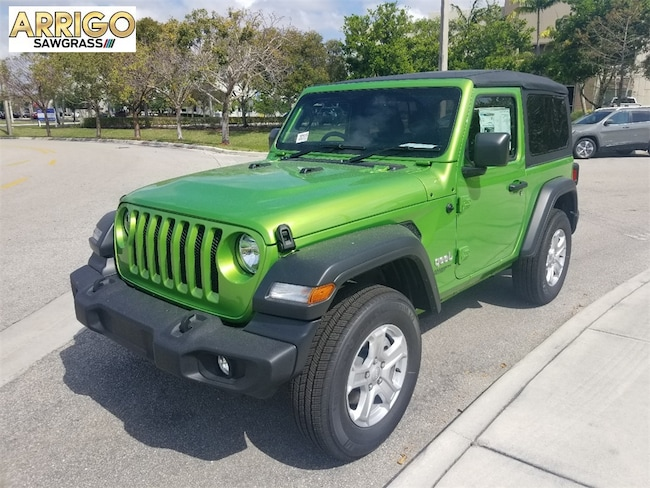 New 2019 Jeep Wrangler SPORT S 4X4 Sport Utility For Sale/Lease Tamarac, Florida