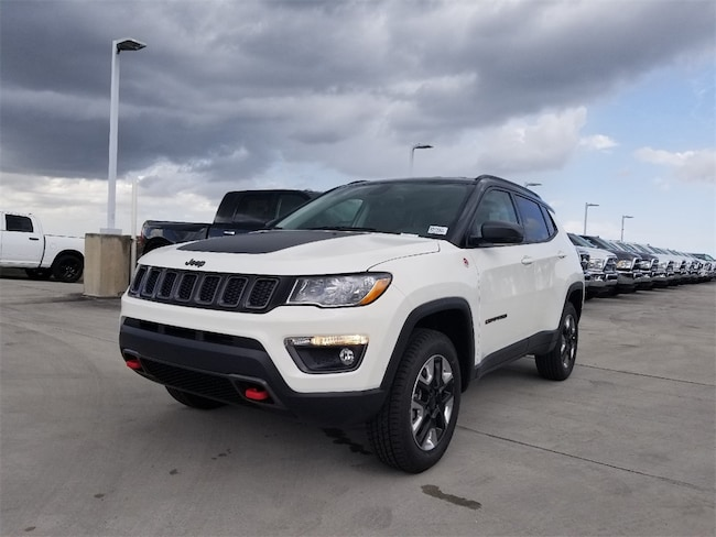 new 2018 jeep compass trailhawk 4x4 for sale lease west palm beach fl stock 282411. Black Bedroom Furniture Sets. Home Design Ideas