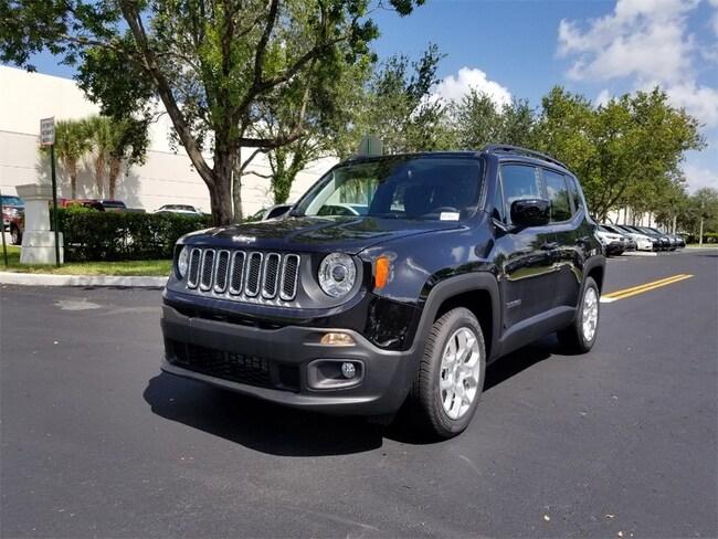 new 2018 jeep renegade latitude 4x2 for sale lease tamarac. Black Bedroom Furniture Sets. Home Design Ideas