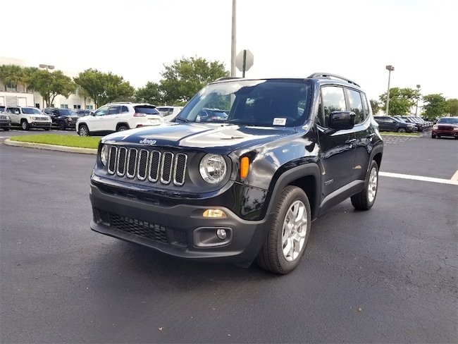 new 2018 jeep renegade latitude 4x2 for sale lease tamarac. Black Bedroom Furniture Sets. Home Design Ideas