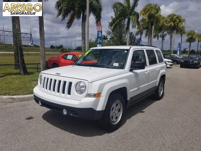 Used 2014 Jeep Patriot Sport FWD SUV For Sale Tamarac, FL