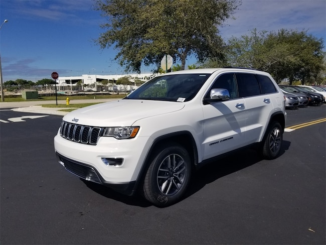 New 2019 Jeep Grand Cherokee LIMITED 4X2 Sport Utility For Sale/Lease Tamarac, Florida