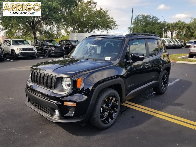 New 2019 Jeep Renegade ALTITUDE FWD Sport Utility For Sale/Lease Tamarac, Florida