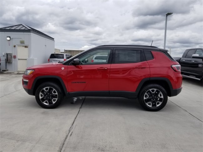 new 2018 jeep compass trailhawk 4x4 for sale lease tamarac fl stock 282433. Black Bedroom Furniture Sets. Home Design Ideas