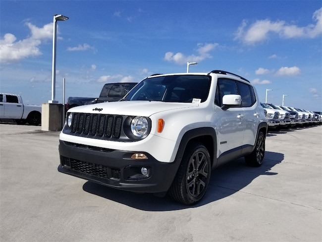 New 2018 Jeep Renegade ALTITUDE 4X2 Sport Utility For Sale/Lease Tamarac, Florida