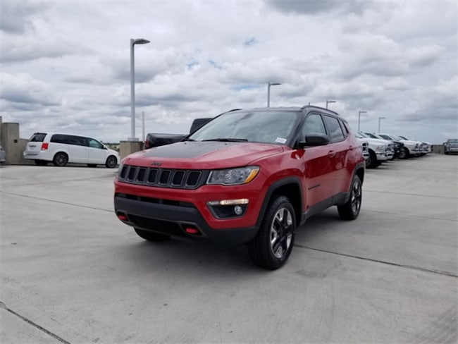 new 2018 jeep compass trailhawk 4x4 for sale lease tamarac. Black Bedroom Furniture Sets. Home Design Ideas