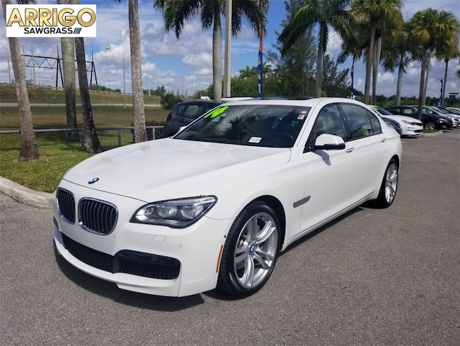 Used 2014 BMW 7 Series 740Li Sedan For Sale Tamarac, FL