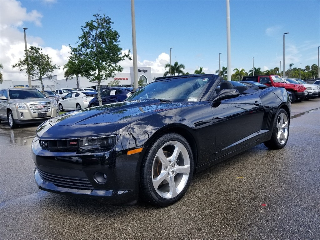 Used 2015 Chevrolet Camaro LT W/2LT Convertible For Sale West Palm Beach,  Florida