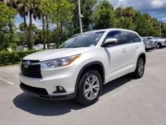 Used 2014 Toyota Highlander SUV 5TDZKRFH5ES021143 for Sale in West Palm Beach, FL