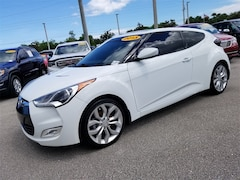 Used 2013 Hyundai Veloster Base w/Gray Hatchback KMHTC6AD6DU156403 for Sale in West Palm Beach, FL