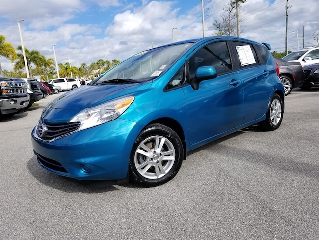 Used 2014 Nissan Versa Note SV Hatchback For Sale West Palm Beach, Florida