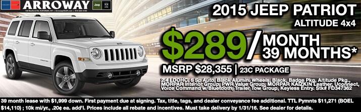 Jeep Lease Deals U0026 Specials. * U002715 ...